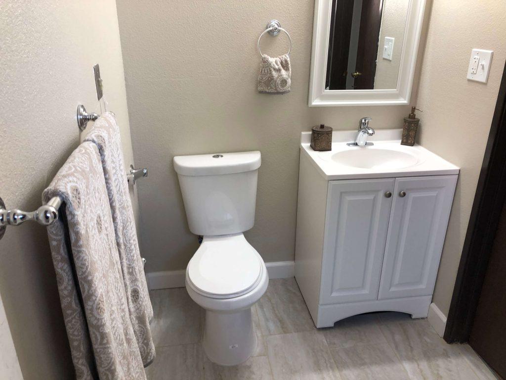 Memory Care Studio Bathroom