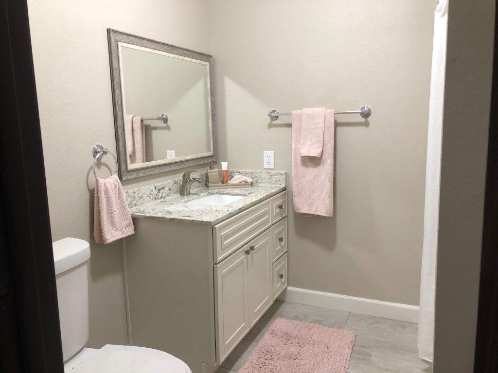 Assisted Living 1-bdrm Suite Bathroom